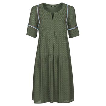 Υφασμάτινα Γυναίκα Κοντά Φορέματα One Step RAFIA Kaki