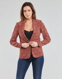 Υφασμάτινα Γυναίκα Σακάκι / Blazers One Step VINNY Red / Multicolour