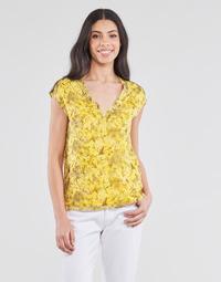 Υφασμάτινα Γυναίκα Μπλούζες One Step CALI Yellow