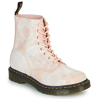 Παπούτσια Γυναίκα Μπότες Dr Martens 1460 PASCAL Beige