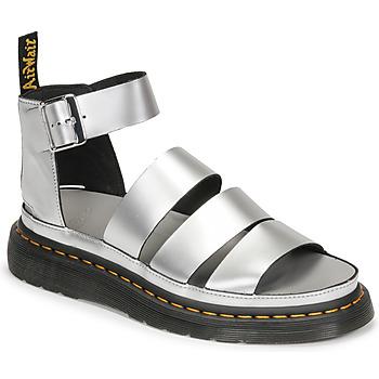 Παπούτσια Γυναίκα Σανδάλια / Πέδιλα Dr Martens CLARISSA II Silver