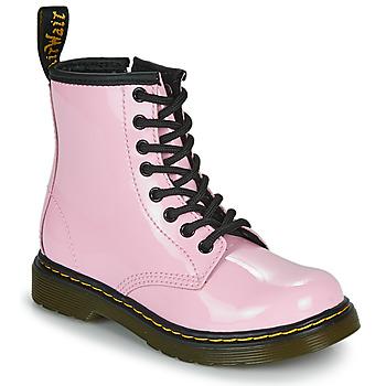 Παπούτσια Κορίτσι Μπότες Dr Martens 1460 J Ροζ