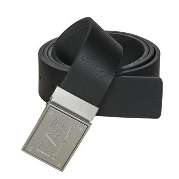 Αξεσουάρ Ζώνες Emporio Armani EA7 TRAIN CORE ID U BELT Black / Reversible / Grey
