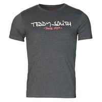 Υφασμάτινα Άνδρας T-shirt με κοντά μανίκια Teddy Smith TICLASS Grey / Fonce