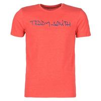 Υφασμάτινα Άνδρας T-shirt με κοντά μανίκια Teddy Smith TICLASS Red