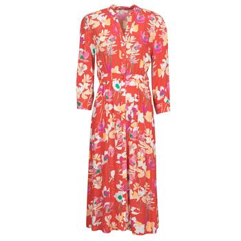 Υφασμάτινα Γυναίκα Μακριά Φορέματα Rip Curl SUGAR BLOOM DRESS Red