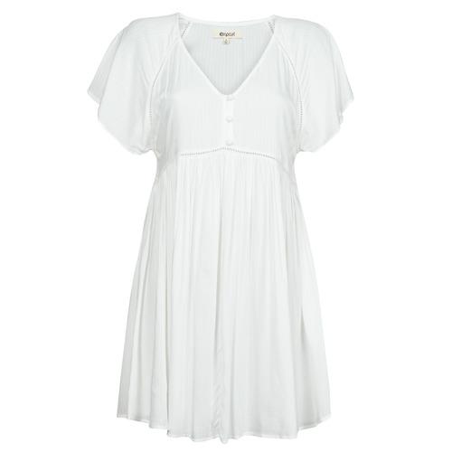 Υφασμάτινα Γυναίκα Κοντά Φορέματα Rip Curl IN YOUR DREAMS DRESS Άσπρο