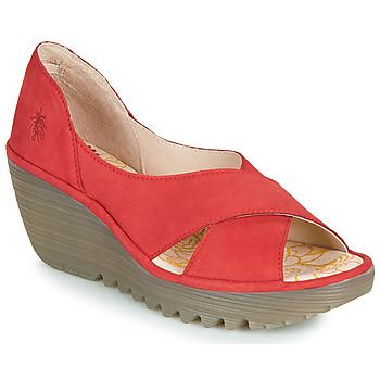 Παπούτσια Γυναίκα Σανδάλια / Πέδιλα Fly London YOMA Red