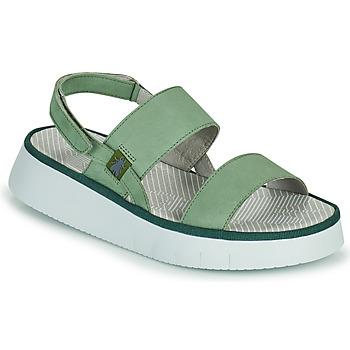Παπούτσια Γυναίκα Σανδάλια / Πέδιλα Fly London CURA Green