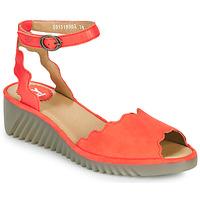 Παπούτσια Γυναίκα Σανδάλια / Πέδιλα Fly London LUME Red