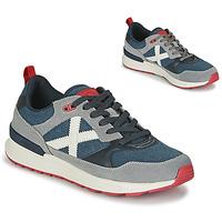 Παπούτσια Άνδρας Χαμηλά Sneakers Munich ALPHA 51 Grey / Μπλέ