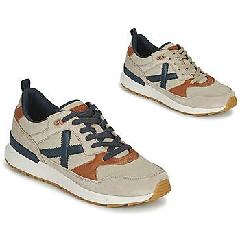 Παπούτσια Άνδρας Χαμηλά Sneakers Munich ALPHA 49 Beige / Μπλέ