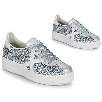 Παπούτσια Γυναίκα Χαμηλά Sneakers Munich BARRU SKY 65 Silver / Άσπρο