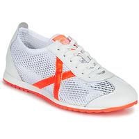 Παπούτσια Γυναίκα Χαμηλά Sneakers Munich OSAKA 456 Άσπρο / Orange