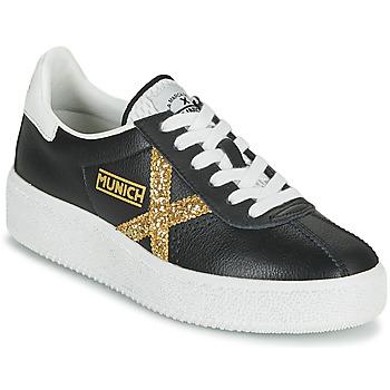 Παπούτσια Γυναίκα Χαμηλά Sneakers Munich BARRU SKY 62 Black / Gold