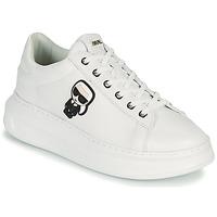 Παπούτσια Γυναίκα Χαμηλά Sneakers Karl Lagerfeld KAPRI KARL IKONIC LO LACE Άσπρο