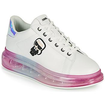 Παπούτσια Γυναίκα Χαμηλά Sneakers Karl Lagerfeld KAPRI KUSHION KARL IKONIC LO LACE Άσπρο / Multicolour
