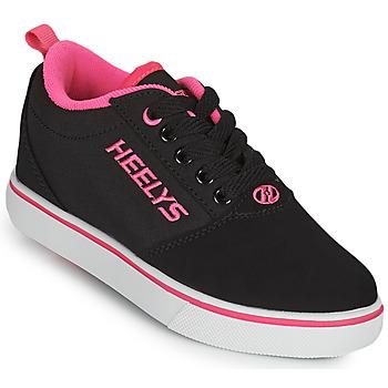 Παπούτσια Κορίτσι roller shoes Heelys PRO 20'S Black / Ροζ
