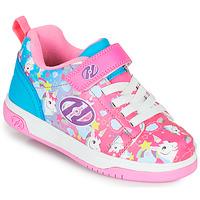 Παπούτσια Κορίτσι roller shoes Heelys DUAL UP X2 Ροζ / Μπλέ