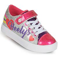 Παπούτσια Κορίτσι roller shoes Heelys SNAZZY X2 Silver / Multicolour