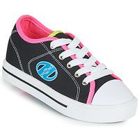Παπούτσια Κορίτσι roller shoes Heelys CLASSIC X2 Black / Ροζ / Μπλέ