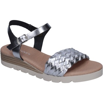Παπούτσια Γυναίκα Σανδάλια / Πέδιλα Rizzoli BK606 Ασήμι