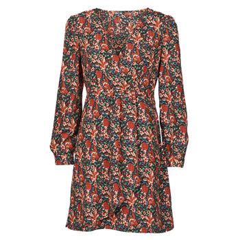 Υφασμάτινα Γυναίκα Κοντά Φορέματα Betty London NOMIM Black / Red
