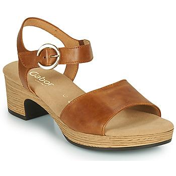 Παπούτσια Γυναίκα Σανδάλια / Πέδιλα Gabor 6272153 Camel