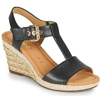 Παπούτσια Γυναίκα Σανδάλια / Πέδιλα Gabor 6282457 Black