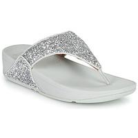 Παπούτσια Γυναίκα Σαγιονάρες FitFlop LULU GLITTER Silver