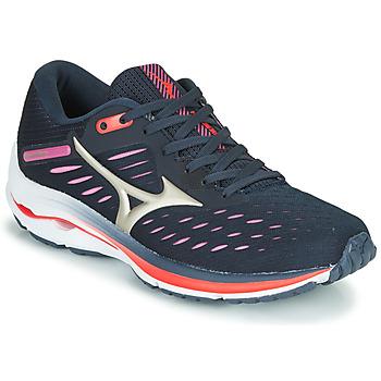 Παπούτσια Γυναίκα Τρέξιμο Mizuno WAVE RIDER 24 Violet / Ροζ