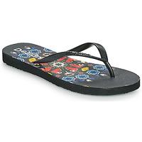 Παπούτσια Γυναίκα Σαγιονάρες Desigual FLIP FLOP BUTTERFLY Black