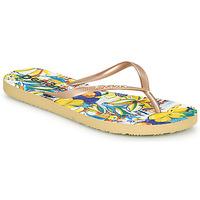 Παπούτσια Γυναίκα Σαγιονάρες Desigual FLIP FLOP TROPICUBAN Gold