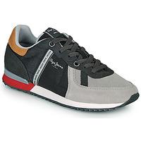 Παπούτσια Άνδρας Χαμηλά Sneakers Pepe jeans TINKER ZERO 21 Grey
