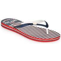 Παπούτσια Γυναίκα Σαγιονάρες Pepe jeans RAKE SAILOR Μπλέ / Άσπρο / Red