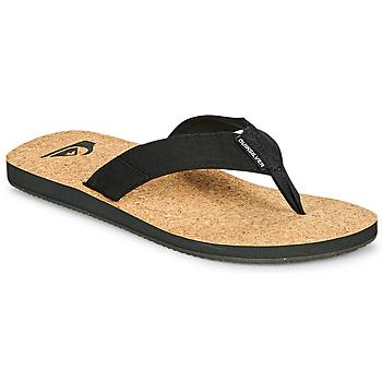 Παπούτσια Άνδρας Σαγιονάρες Quiksilver MOLOKAI ABYSS NATURAL Black