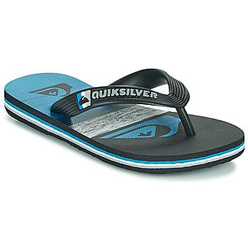 Παπούτσια Παιδί Σαγιονάρες Quiksilver MOLOKAI PANEL YOUTH Black / Μπλέ