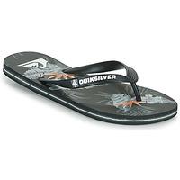 Παπούτσια Άνδρας Σαγιονάρες Quiksilver MOLOKAI EVERYDAY Black