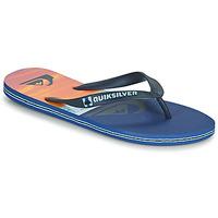 Παπούτσια Άνδρας Σαγιονάρες Quiksilver MOLOKAI PANEL Μπλέ / Orange / Black