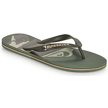 Παπούτσια Άνδρας Σαγιονάρες Quiksilver MOLOKAI PANEL Kaki