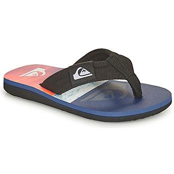 Παπούτσια Παιδί Σαγιονάρες Quiksilver MOLOKAI LAYBACK YOUTH Μπλέ / Orange / Black