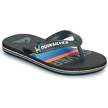 Παπούτσια Παιδί Σαγιονάρες Quiksilver MOLOKAI SLAB YOUTH Black / Μπλέ