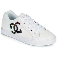 Παπούτσια Γυναίκα Skate Παπούτσια DC Shoes CHELSEA J Άσπρο / Ροζ