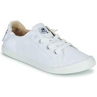 Παπούτσια Γυναίκα Χαμηλά Sneakers Roxy BAYSHORE III Άσπρο
