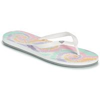 Παπούτσια Γυναίκα Σαγιονάρες Roxy TAHITI VII Άσπρο / Ροζ