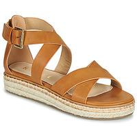Παπούτσια Γυναίκα Σανδάλια / Πέδιλα Ravel EMMY Camel