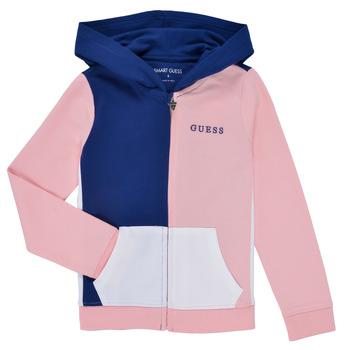Υφασμάτινα Κορίτσι Φούτερ Guess K1RQ00-KA6R0-F672 Άσπρο / Ροζ