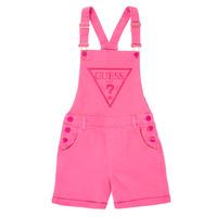 Υφασμάτινα Κορίτσι Ολόσωμες φόρμες / σαλοπέτες Guess J1GK12-WB5Z0-JLPK Ροζ