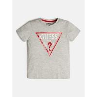 Υφασμάτινα Αγόρι T-shirt με κοντά μανίκια Guess L73I55-K5M20-M90 Grey