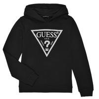 Υφασμάτινα Κορίτσι Φούτερ Guess J83Q14-K5WK0-A996 Black
